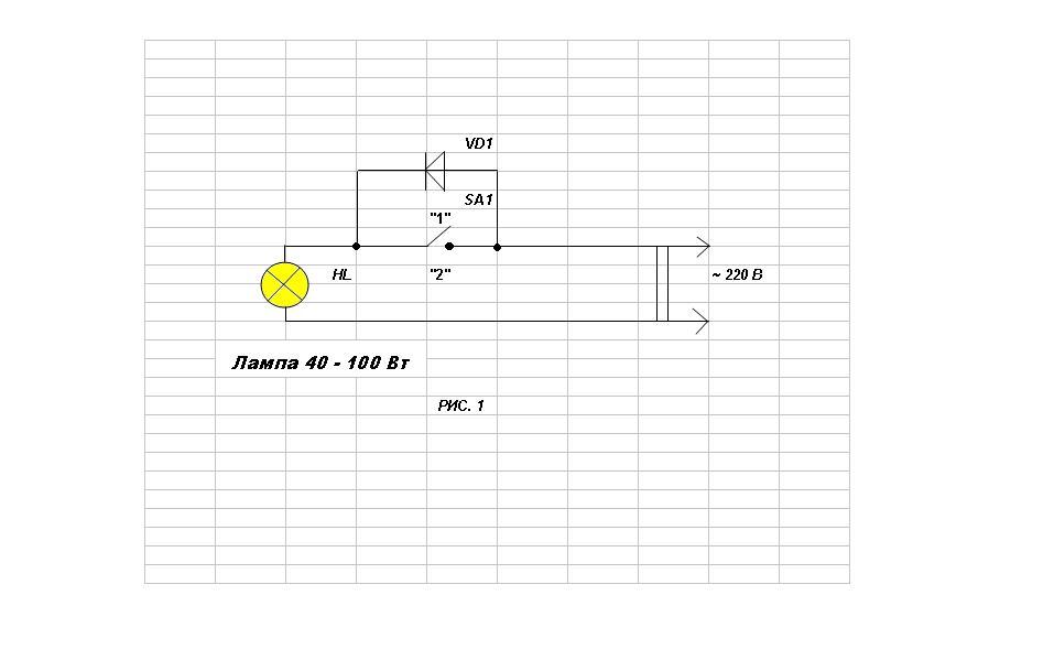 Электрическая схема электра 1001