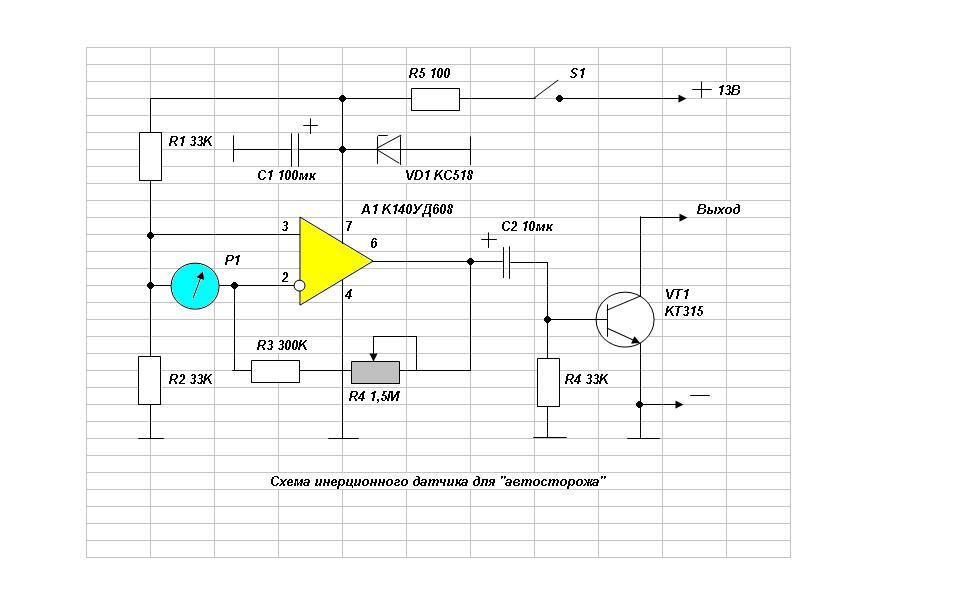 микроамперметр Р1, рис.2.