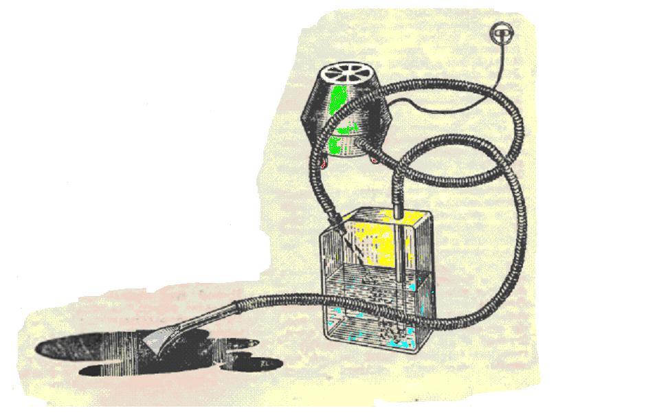 Пылесос для сбора воды своими руками